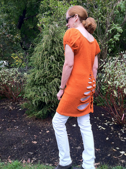 tunic with back detail
