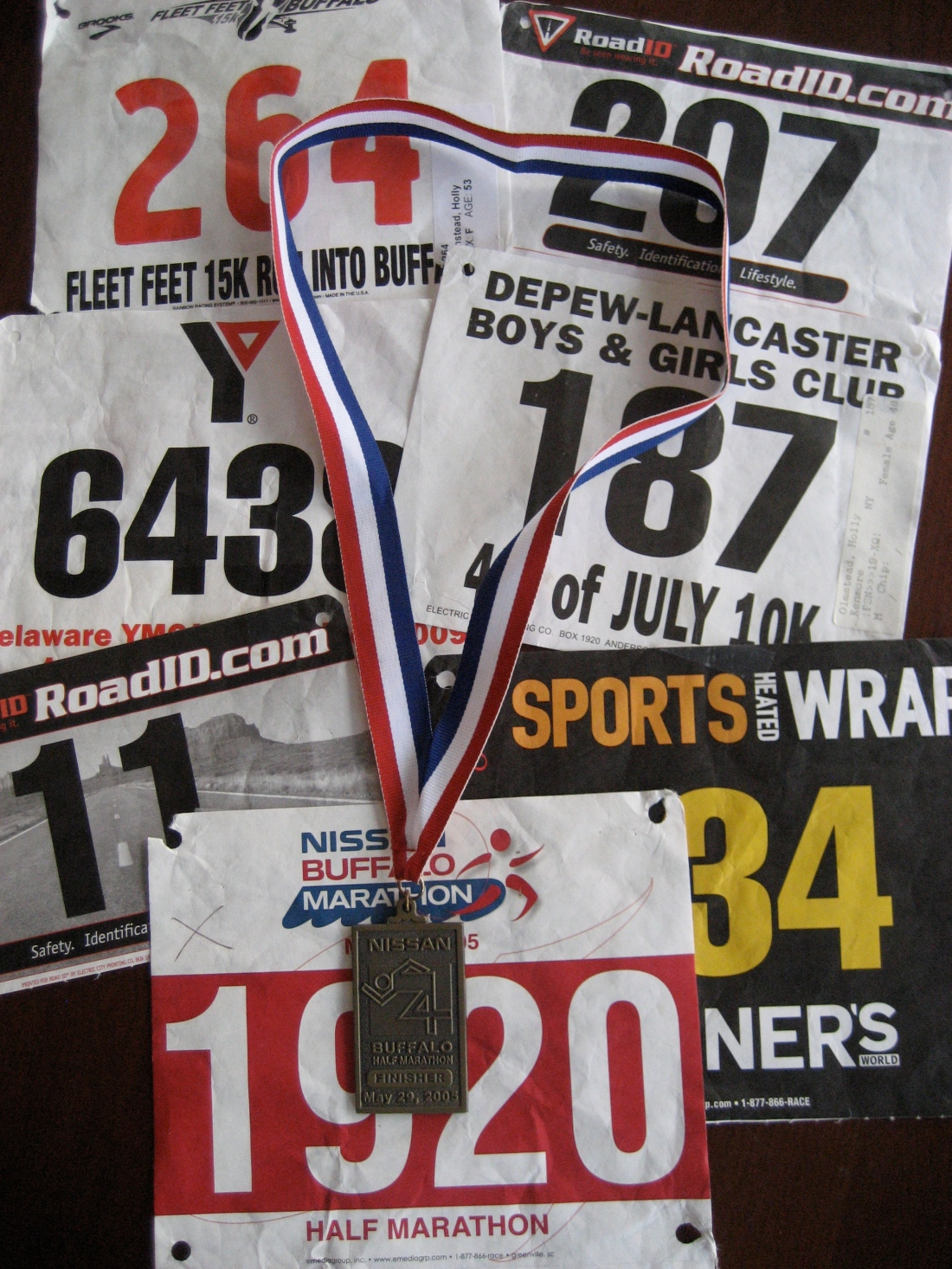 from my running past