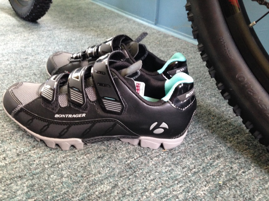 I did not purchase the pedals for these clip-on shoes.... yet.  Oh, dear....