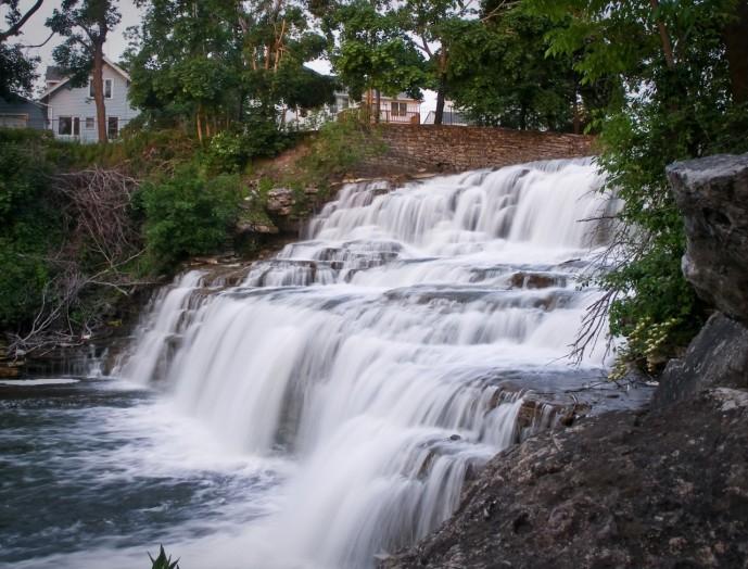 Glen Falls, Williamsville